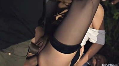 Hair, Stockings handjob, Dark
