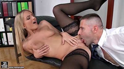 Stocking anal, Stock, Blonde stockings