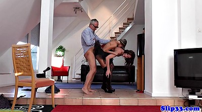Mature couple, Anal young, Threesome mature anal, Anal old