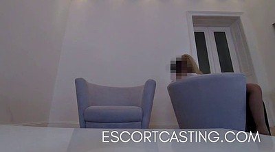 Cast, Escorts, Real casting, Flat, Casting blonde