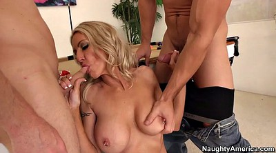 Double blowjob, Double penetration, Emma