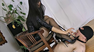 Mistress, Sex slave, Male slave, Asian slave, Smoking fetish, Latex bdsm