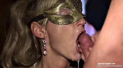 Creampie gangbang, German milf, Mouth sex