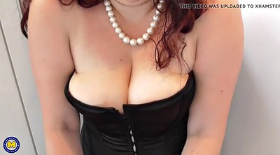 Mom, Saggy tits, Saggy, British granny, British bbw, Bbw mom
