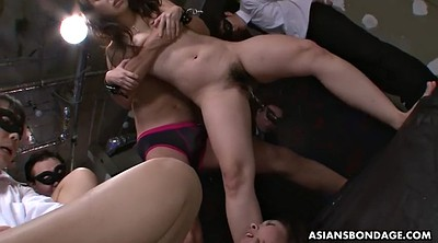 Japanese bdsm, Public sex, In front of, Asian bondage