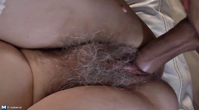 Young boy, Granny boy, Old granny, Hairy mature