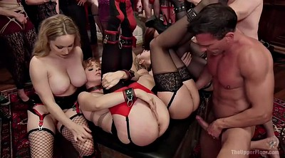 Tied up, Bdsm orgy