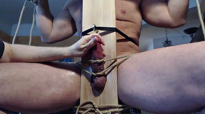 Edge, Chair, Bondage handjob