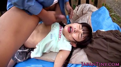 Japanese gangbang, Japanese cute