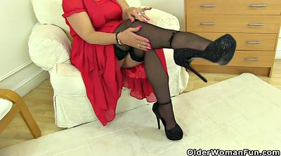 Nylons, Mature nylon, Fetish, Milf nylon