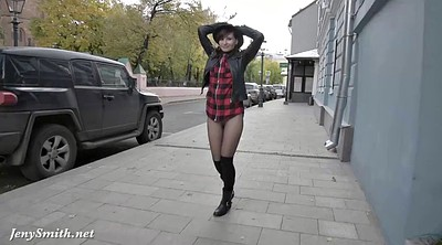 Pantyhose, Pantyhose fetish, Walking
