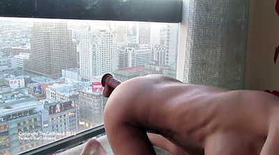 Window, Nympho, Big tits solo, Girl masturbate