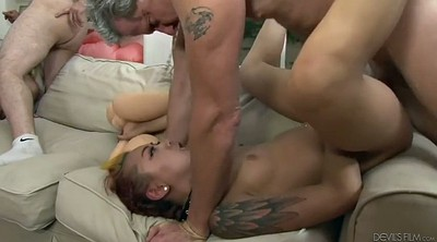 Ass licking, Hairy anal, Anal orgy