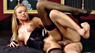 Gloves, Stocking anal, Thigh, Stock