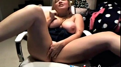 Chubby solo, Masturbating, Chubby masturbation, Solo blonde, Chubby webcam