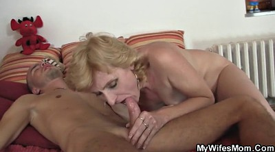Mature mom, In law, Mom in law, Mom cum, Mom helps, Law