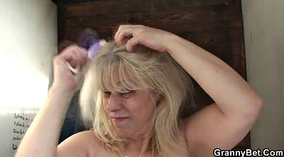 Granny gangbang, Old teacher, Wife threesome, Pussy