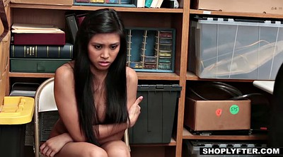 Forced, Force, Shoplifter, Shoplifting, Hairy asian, Teen forced
