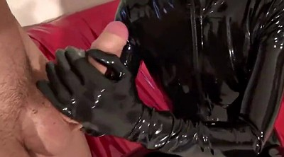 Latex, Handjob cumshot