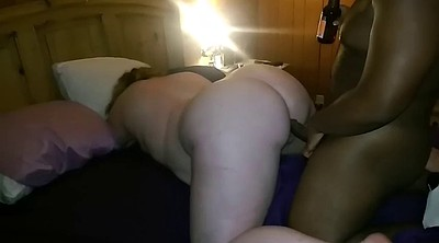 Interracial, Creampie bbw, Creampied