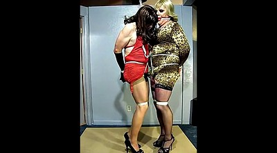 Gay bondage, Crossdressers, Crossdresser bondage, Gay tied, Crossdress gay