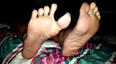 Ebony feet, Girl foot
