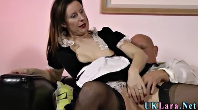 Stockings hd, Maid, Milf creampie