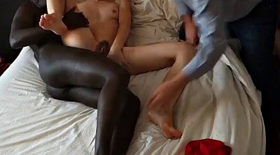 Swingers, Wife and black, Cuckold hubby