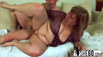 Huge, Chubby granny, Bbw doggy, Granny doggy, Young bbw, Huge cum