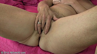 Saggy, Show, Solo bbw, Granny masturbating, Solo shaved fingering, Solo chubby