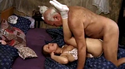 Perv, Young and old, Latina granny, French granny
