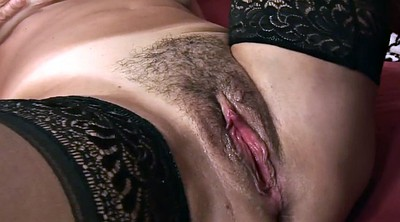 Hairy pussy, Tongue, Hairy matures