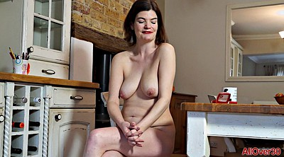 Hairy mature, Hairy show, Chubby milf solo