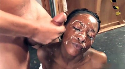 Blacked, Bukkake, Black girl, Big black cock