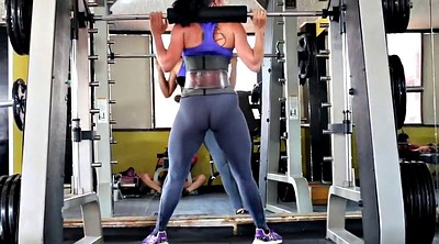 Cameltoe, Fit, Gym ass