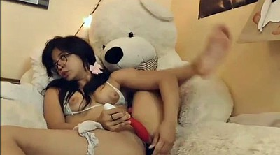 Webcam, Asian teen
