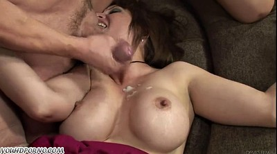 Blond, My mother, Mother blowjob