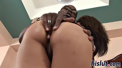 Creampie, Hairy interracial
