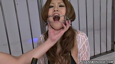Japanese gagging, Asian bdsm, Japanese throat, Asian bondage