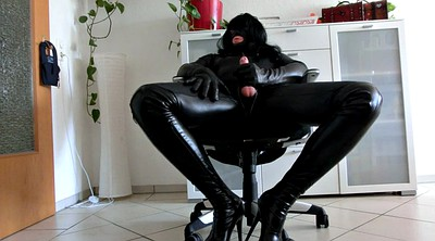 Crossdresser, Leather, Gloves, Crossdressers
