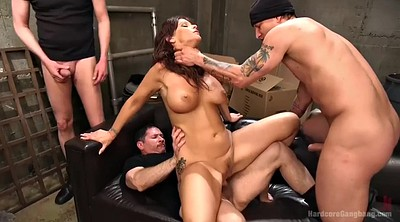 Three, Double, Mature gangbang, Ebony mature, Milf interracial, Mature big cock
