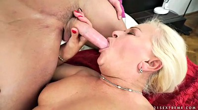 Granny facial, Mature cumshot, Mature and young