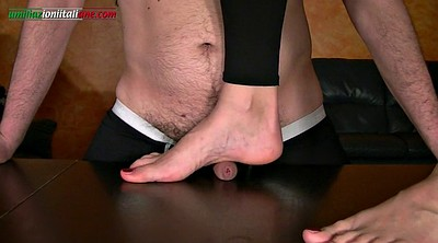 Footjob, Footjob cumshot, Under, Femdom footjob, Foot fetish, Under footjob