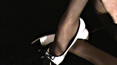 Crossdressers, Wank, Pantyhose gay, Ebony pantyhose