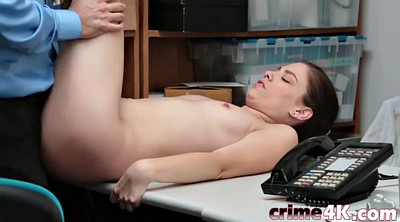 Teen thief, Freedom, Shaved pussy