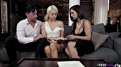 Teach, Ryan, Teaching, Milf threesome, Real milf