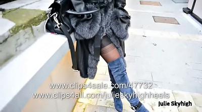 Public, Flash, Teen stockings