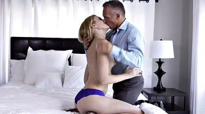 Stepdad, Cum in mouth, Cum in pussy, Teen pussy, Part