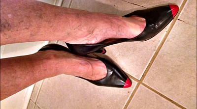 Shoes, Shoe, Mature foot, Compliation, Mature feet