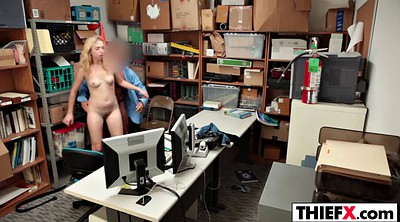 Police, Zoe, Parker, Office punishment, Office blowjob